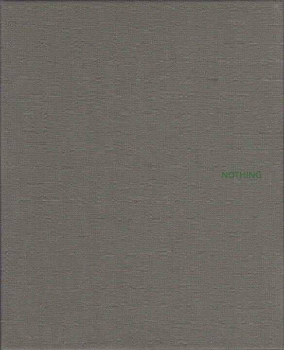 John Gossage - Nothing, Waltz Books 2014, Cover - http://josefchladek.com/book/john_gossage_-_nothing