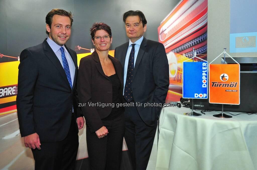 Franz Joseph Doppler; Daniela Dieringer; Bernd Zierhut: Doppler Gruppe blickt positiv in die Zukunft, © Aussender (05.03.2015)