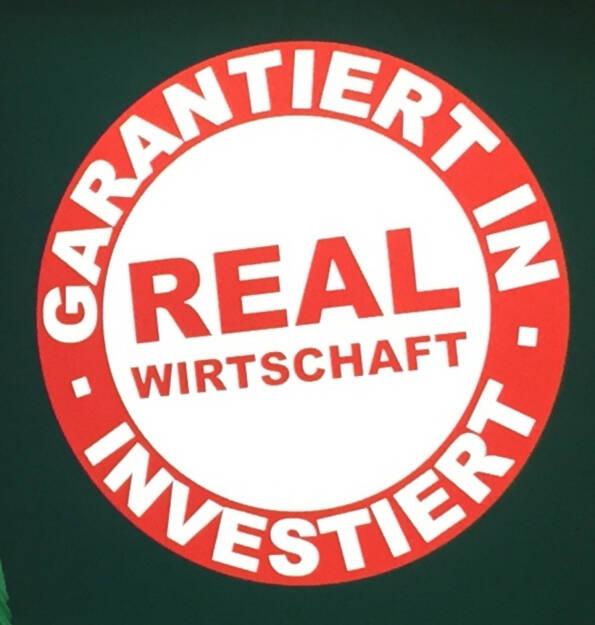 Garantiert Real Wirtschaft investiert (05.03.2015)