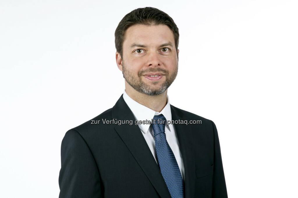 Felix Strohbichler wird neuer Geschäftsführer der B&C Industrieholding, © Aussender (06.03.2015)