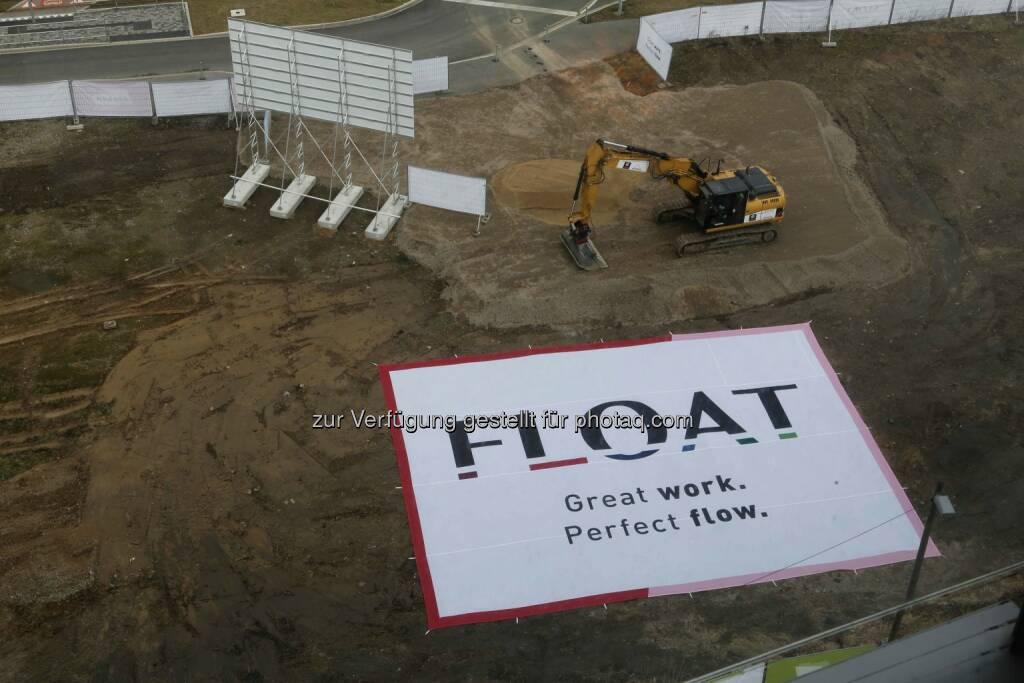 Die Immofinanz Group baut ihr Entwicklungsgeschäft in Deutschland aus und errichtet im Düsseldorfer Medienhafen mit Float einen mehrteiligen Bürokomplex. , © Aussendung (06.03.2015)