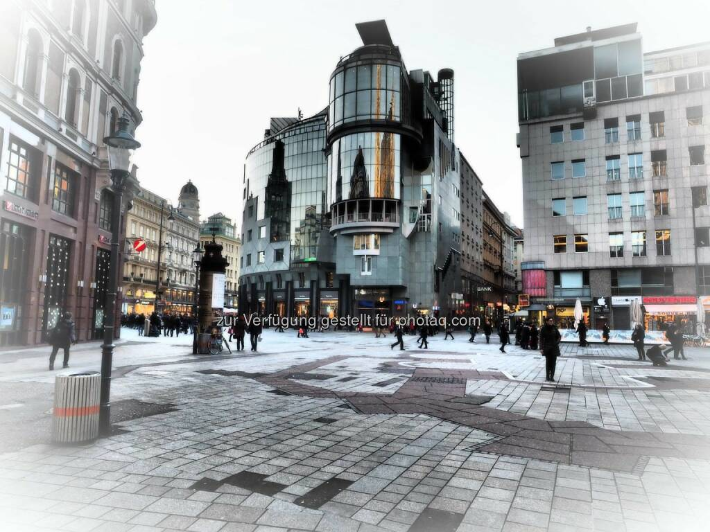 Wien Stephansplatz Haas Haus, © Dirk Herrmann (08.03.2015)