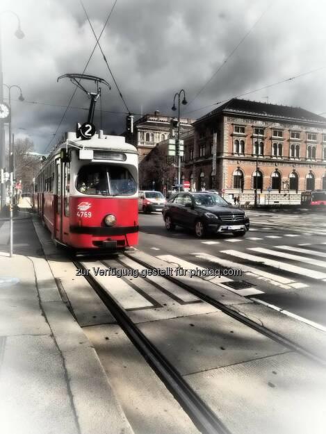 Wien Strassenbahn, © Dirk Herrmann (08.03.2015)