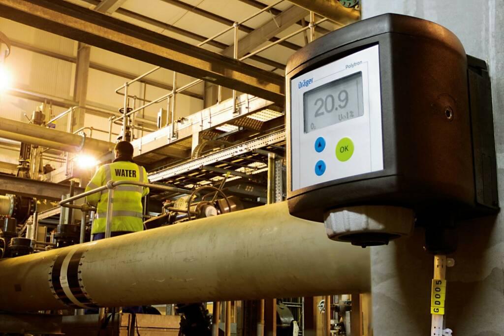 Dräger, Drägerwerk, Messung Gaskonzentration, © Dräger (Homepage) (08.03.2015)