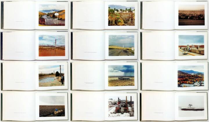 Joel Sternfeld - American Prospects, Times Books in association with the Museum of Fine Arts 1987, Beispielseiten, sample spreads - http://josefchladek.com/book/joel_sternfeld_-_american_prospects