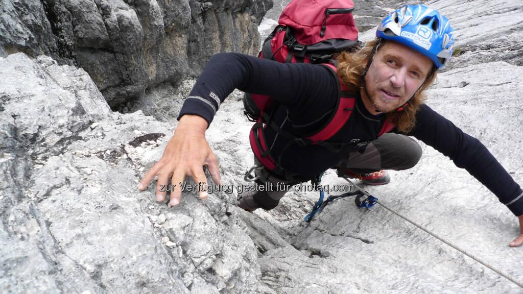 "Blind Climber Andy Holzer: Lindo Promotion: 25. März: Andy Holzer zu Gast in ""Thomas Andreas Beck's Konzerttalkshow"", © Aussender (09.03.2015)"