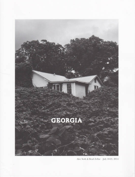 Alec Soth and Brad Zellar - LBM Dispatch #7: Georgia, Little Brown Mushroom 2014, Cover - http://josefchladek.com/book/alec_soth_and_brad_zellar_-_lbm_dispatch_7_georgia