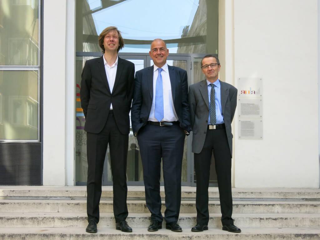 Zumtobel: Rogier van der Heide, Ulrich Schumacher, Klaus Vamberszky, © (photaq.com bzw. Zumtobel) (10.03.2015)