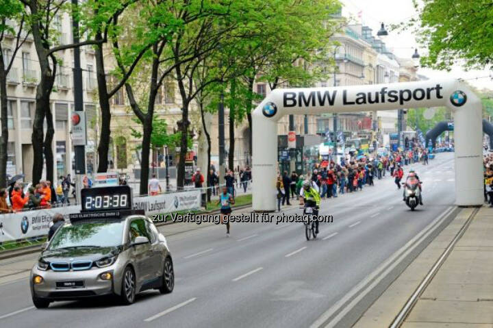 BMW 2015 bereits zum dritten Mal Partner des Vienna City Marathon.