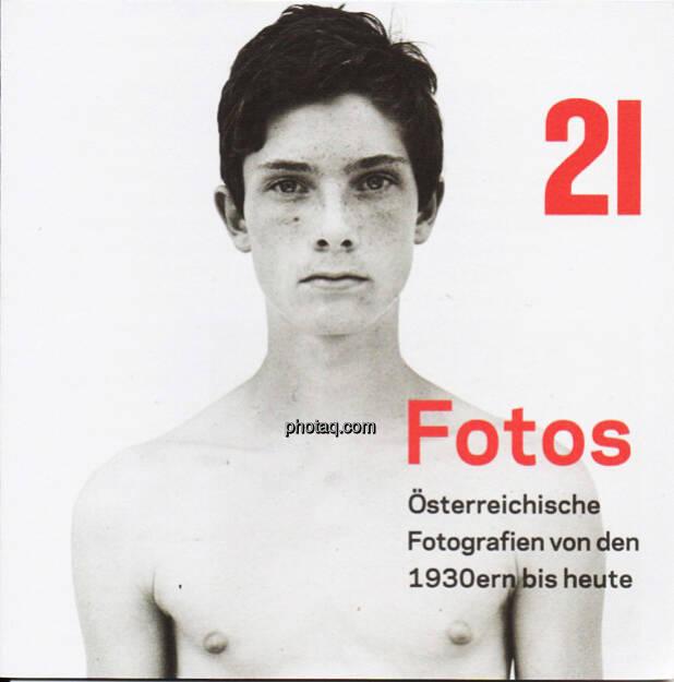 21er Haus - Fotos Österreichische Fotografien 1930er bis heute - Folder (Bild: aus dem Zyklus Knabenporträts  von Bernhard Fuchs) (17.02.2013)