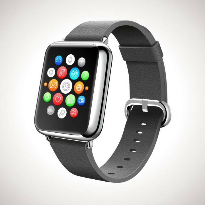 Apple Watch look-alike, Smart Watch Concept Vector Realistic Illustration, http://www.shutterstock.com/de/pic-227607688/stock-vector-smart-watch-concept-vector-realistic-illustration.html