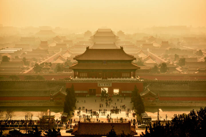 China, Peking, Verbotene Stadt und Kaiserpalast, http://www.shutterstock.com/de/pic-243064399/stock-photo-imperial-palace-in-beijing-view-from-above-china.html