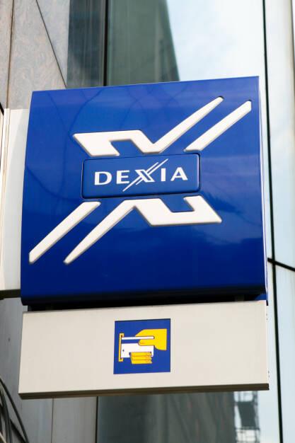 Dexia Logo, Brüssel <a href=http://www.shutterstock.com/gallery-106159p1.html?cr=00&pl=edit-00>jorisvo</a> / <a href=http://www.shutterstock.com/editorial?cr=00&pl=edit-00>Shutterstock.com</a>, © www.shutterstock.com (12.03.2015)