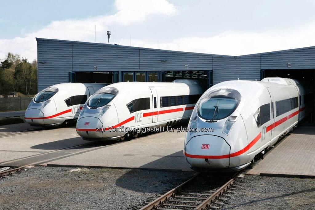Der Siemens-Hochgeschwindigkeitszug vom Typ Velaro wurde mit dem renommierten iF Design Award in der Kategorie Produkt ausgezeichnet., © Aussendung (13.03.2015)