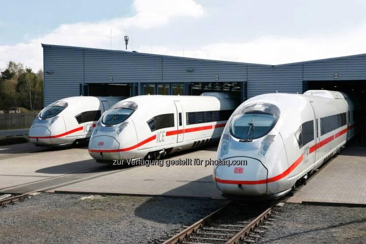 Der Siemens-Hochgeschwindigkeitszug vom Typ Velaro wurde mit dem renommierten iF Design Award in der Kategorie Produkt ausgezeichnet.
