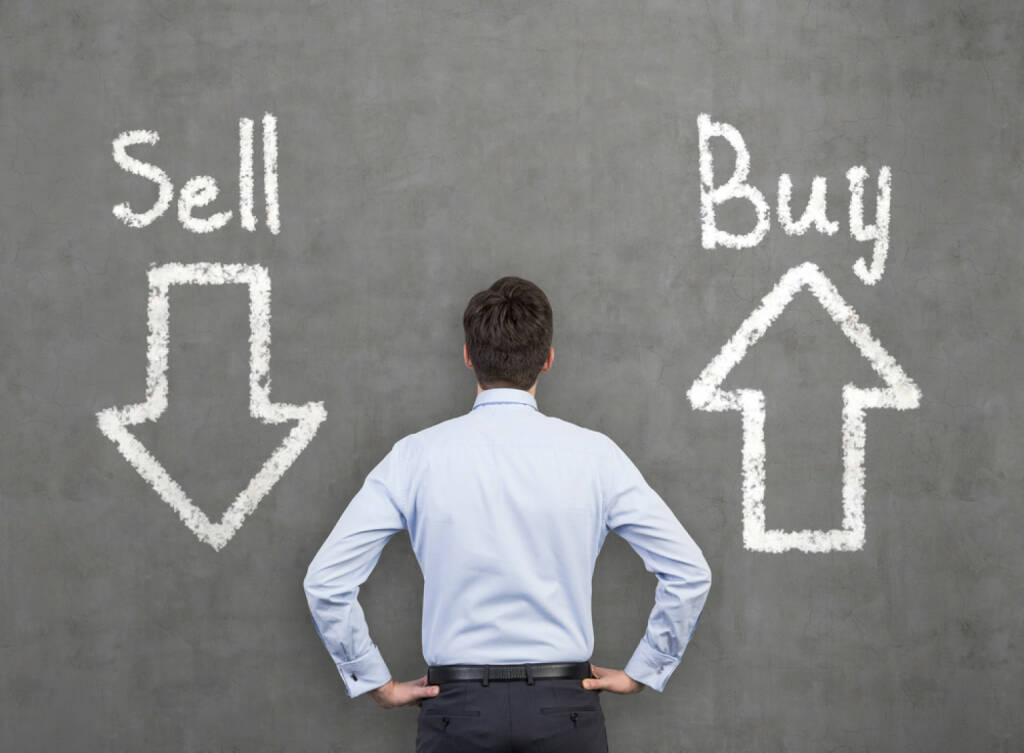 Sell, Buy, kaufen, verkaufen, Konsument, Verbraucher, Entscheidung, entscheiden, © www.shutterstock.com (15.03.2015)