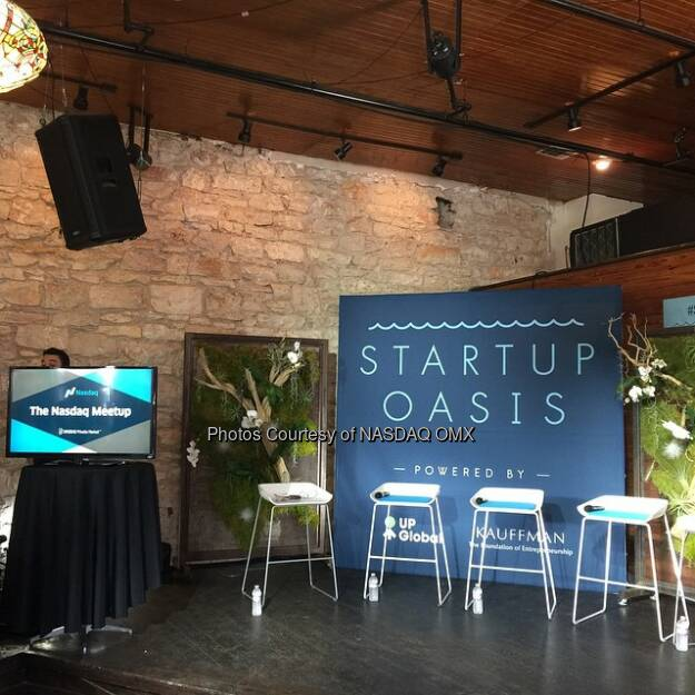 Startup Come on over to the @nasdaq Meet Up here at #SXSWi at the Old School Bar and Grill in Austin (east 6th and trinity) for 2 fantastic panels! #SXSW  Source: http://facebook.com/NASDAQ (15.03.2015)