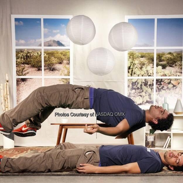 Out of body experience at #LevitateATX #InstagramATX @officialmikep #NasdaqGram  Source: http://facebook.com/NASDAQ (15.03.2015)