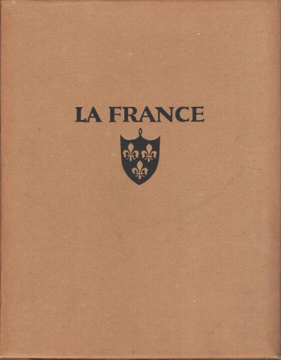 Martin Hürlimann - La France - Architecture et Paysages, Ernst Wasmuth 1927, Cover - http://josefchladek.com/book/martin_hurlimann_-_la_france_-_architecture_et_paysages