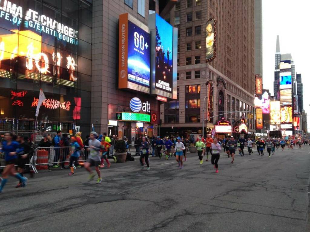 New York Halbmarathon by Monika Kalbacher https://www.facebook.com/kalbacher.monika, © Diverse  (16.03.2015)