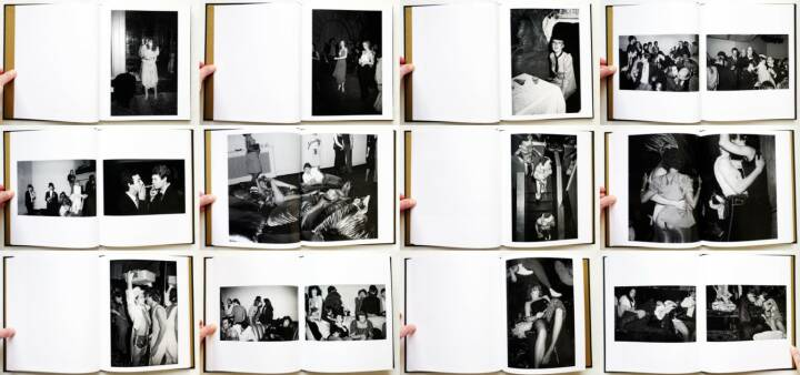 Tod Papageorge - Studio 54, Stanley / Barker 2014, Beispielseiten, sample spreads - http://josefchladek.com/book/tod_papageorge_-_studio_54