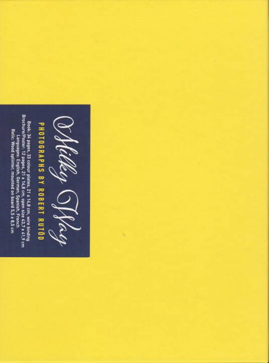 Robert Rutöd - Milky Way, Self published 2014, Cover - http://josefchladek.com/book/robert_rutod_-_milky_way
