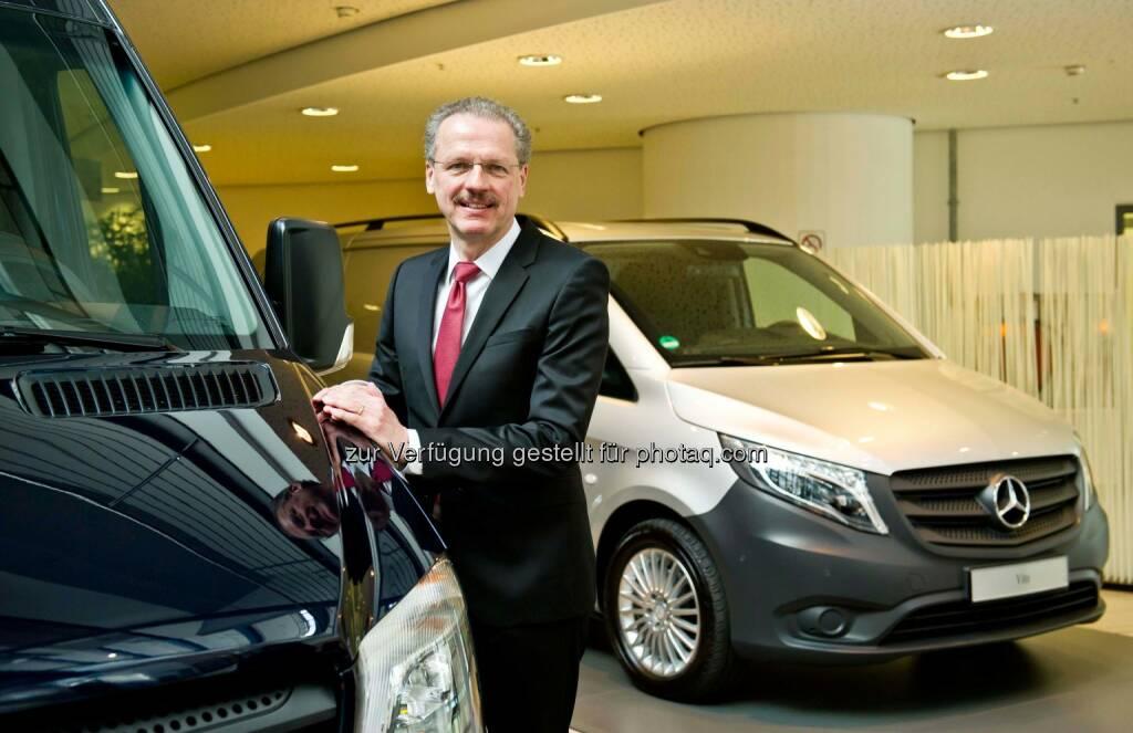 Volker Mornhinweg, Leiter Mercedes-Benz Vans: Mercedes-Benz Vans verbucht Rekordjahr 2014 und stellt Weichen für zukünftiges Wachstum, © Aussender (17.03.2015)