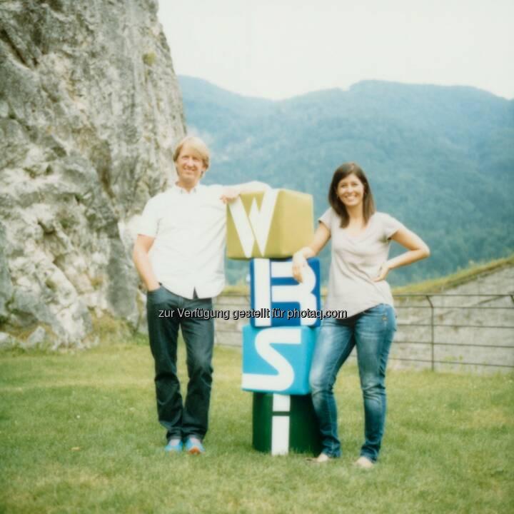 Alexander Drastil und Sigrid Ruppe-Senn teilen sich ab April 2015 die Geschäftsführung im Haus Interalp Touristik Gmbh