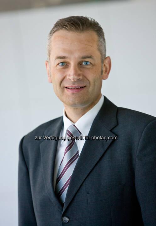 Bernhard Kienlein, Leiter der Division Process Industries and Drives bei der Siemens AG Österreich