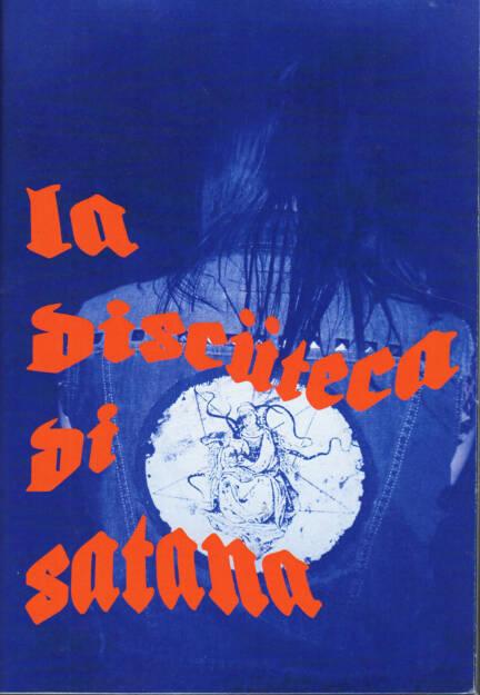 Riccardo Nava - La Discüteca di Satana, Self published 2015, Cover - http://josefchladek.com/book/riccardo_nava_-_la_discuteca_di_satana, © (c) josefchladek.com (18.03.2015)