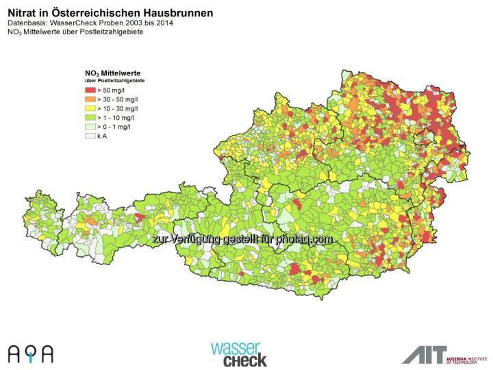 AQA GmbH: Zum Weltwassertag am 22.3.: Trinkwasser-Topqualität in Österreich ist nicht selbstverständlich: Nitrat im Trinkwasser
