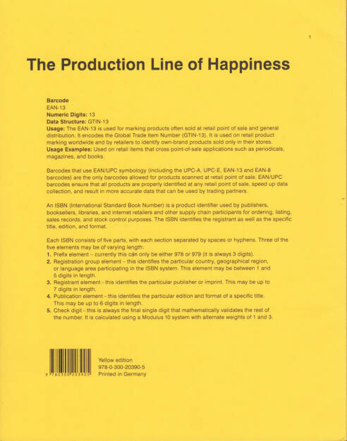 Christopher Williams - The Production Line of Happiness, Art Institute of Chicago 2014, Cover - http://josefchladek.com/book/christopher_williams_-_the_production_line_of_happiness, © (c) josefchladek.com (23.03.2015)