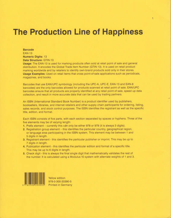 Christopher Williams - The Production Line of Happiness, Art Institute of Chicago 2014, Cover - http://josefchladek.com/book/christopher_williams_-_the_production_line_of_happiness