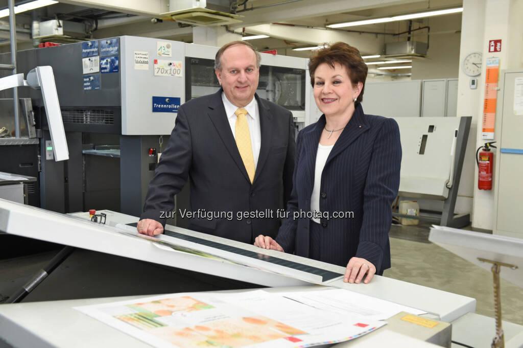 Ingrid und Rudolf Trauner: Deutliches Umsatzplus für oberösterreichischen Trauner Verlag, © Aussender (23.03.2015)