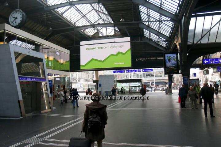 Zürich Hauptbahnhof Die neue Form der Geldanlage wikifolio