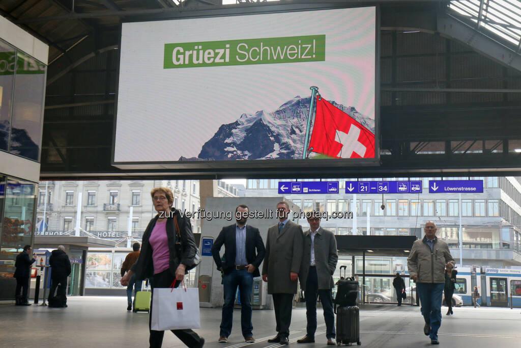 wikifolio - Grüezi Schweiz! (24.03.2015)