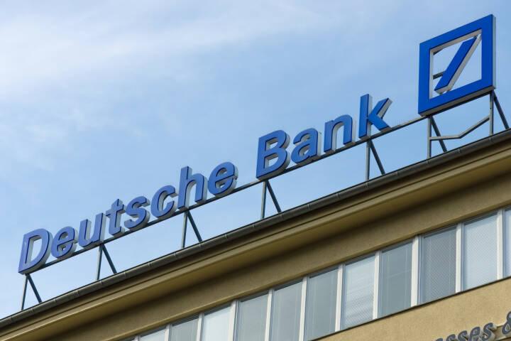 Deutsche Bank, Logo <a href=http://www.shutterstock.com/gallery-472024p1.html?cr=00&pl=edit-00>Bocman1973</a> / <a href=http://www.shutterstock.com/editorial?cr=00&pl=edit-00>Shutterstock.com</a>