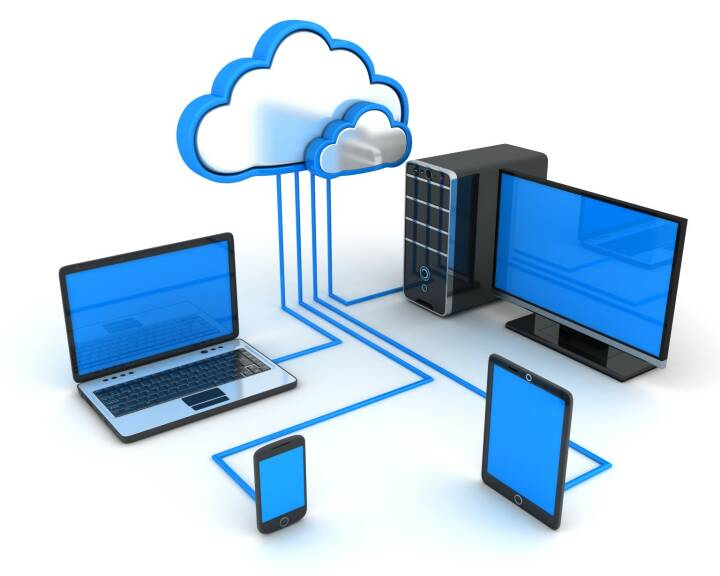 Cloud Storage, Computer, Tablet, Smartphone, Speicher http://www.shutterstock.com/de/pic-215681095/stock-photo-abstract-cloud-storage-done-in-d.html