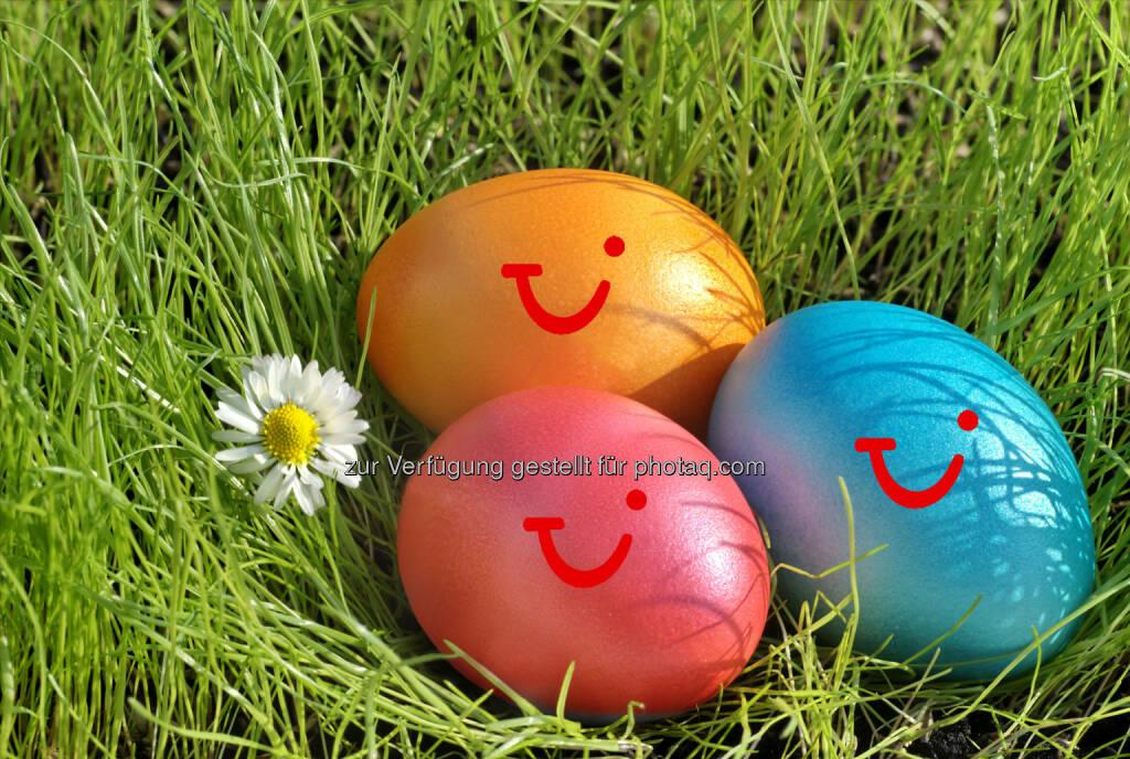 Osterfeiertage so gut wie ausgebucht. Spanien führt TUI Ranking an. - TUI Osterreisetrends 2015, Ostereier (Bild: TUI), © Aussender (26.03.2015)