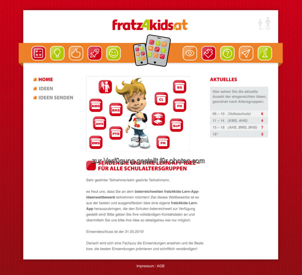 fratz4kids ist die innovative neue Plattform von den besten Köpfen Österreichs für die besten Lehrer und Schüler Österreichs  Digitales unterrichten mit Hilfe von kreativen und neuen Lern-Apps (Bild: Zeit für Mich Verlag) (26.03.2015)