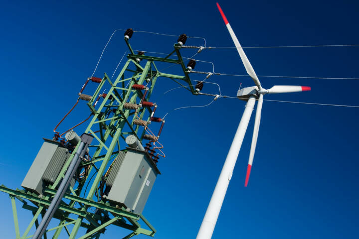 Windkraft, Windrad, Strom, http://www.shutterstock.com/de/pic-42175699/stock-photo-photo-of-wind-power-installation-in-sunny-day.html