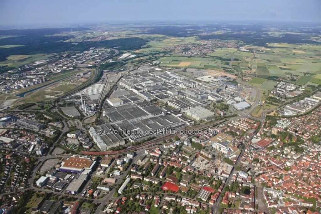 Mercedes-Benz Standort Sindelfingen feiert 100-jähriges Jubiläum, © Aussender (27.03.2015)