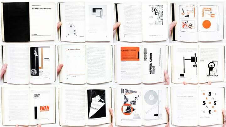 Jan Tschichold - Die neue Typographie, Verlag des Bildungsverbandes der deutschen Buchdrucker 1928, Beispielseiten, sample spreads - http://josefchladek.com/book/jan_tschichold_-_die_neue_typographie