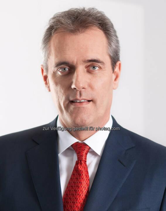 Rainer Seele zum neuen CEO der OMV bestellt, neuer OMV Vorstandsvorsitzender und CEO mit 1. Juli 2015,  Bestellung für drei Jahre mit einer Verlängerungsoption der OMV für weitere zwei Jahre (Bild: OMV)