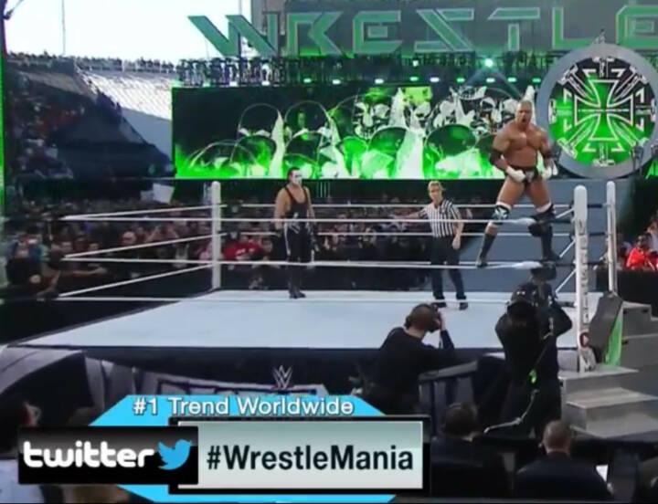 Sting vs. Triple H: WWE war rund um Wrestlemania 31 der #1 Trend weltweit bei Twitter