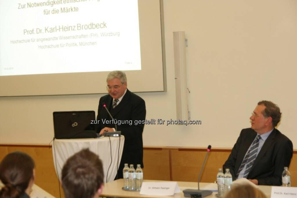 Karl-Heinz Brodbeck, Wilhelm Rasinger, © IVA (20.02.2013)