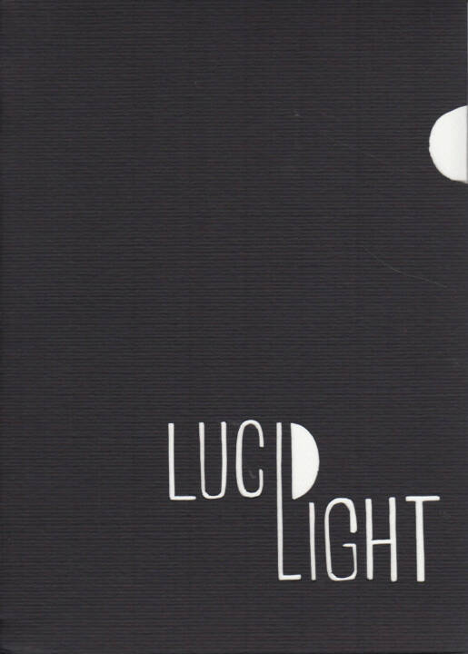Eric Lawton - Lucid Light, Self published 2015, Cover - http://josefchladek.com/book/eric_lawton_-_lucid_light