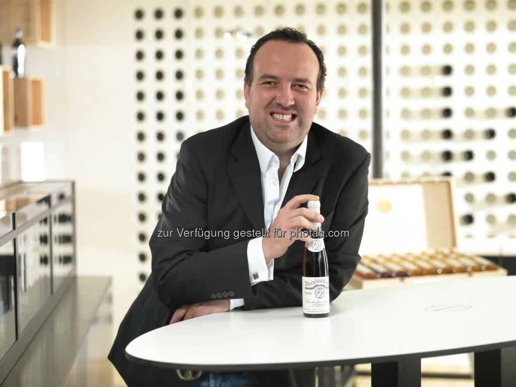 Gerhard Kracher, Geschäftsführer von Kracher Fine Wine GmbH und finewineshop.com - Österreichs größter online-shop für Wein startet (Bild: Bildstadt Fotostudio), © Aussendung (31.03.2015)