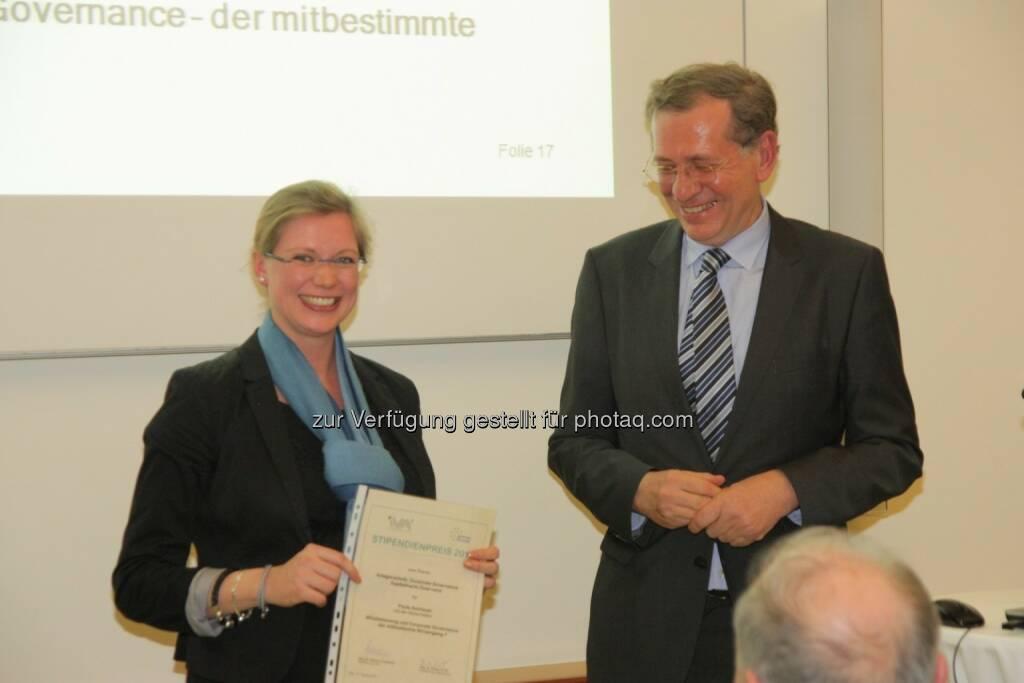 Paula Aschauer, Wilhelm Rasinger, © IVA (20.02.2013)