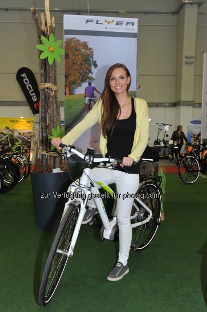 bike-austria Tulln – von 10. bis 12. April 2015, Österreichs größter E-Bike und Pedelecs Event, Fahrrad (Bild: Gregor Semrad/Messe Tuln), © Aussender (01.04.2015)